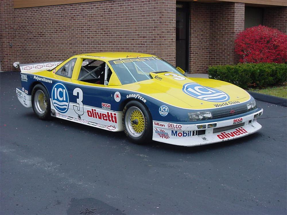1990 CHEVROLET BERETTA TRANS AM RACE CAR #3 - Front 3/4 - 66248