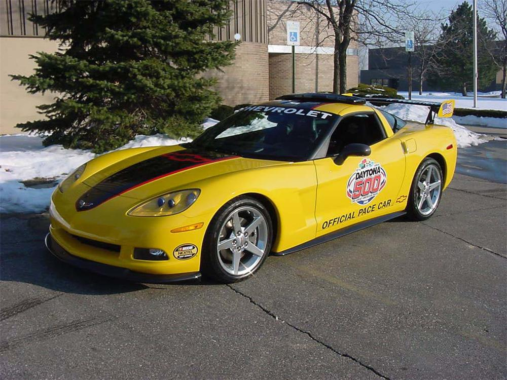 2005 chevrolet corvette coupe daytona pace car 66252. Black Bedroom Furniture Sets. Home Design Ideas