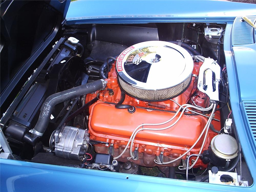 1966 CHEVROLET CORVETTE CONVERTIBLE - Engine - 66270