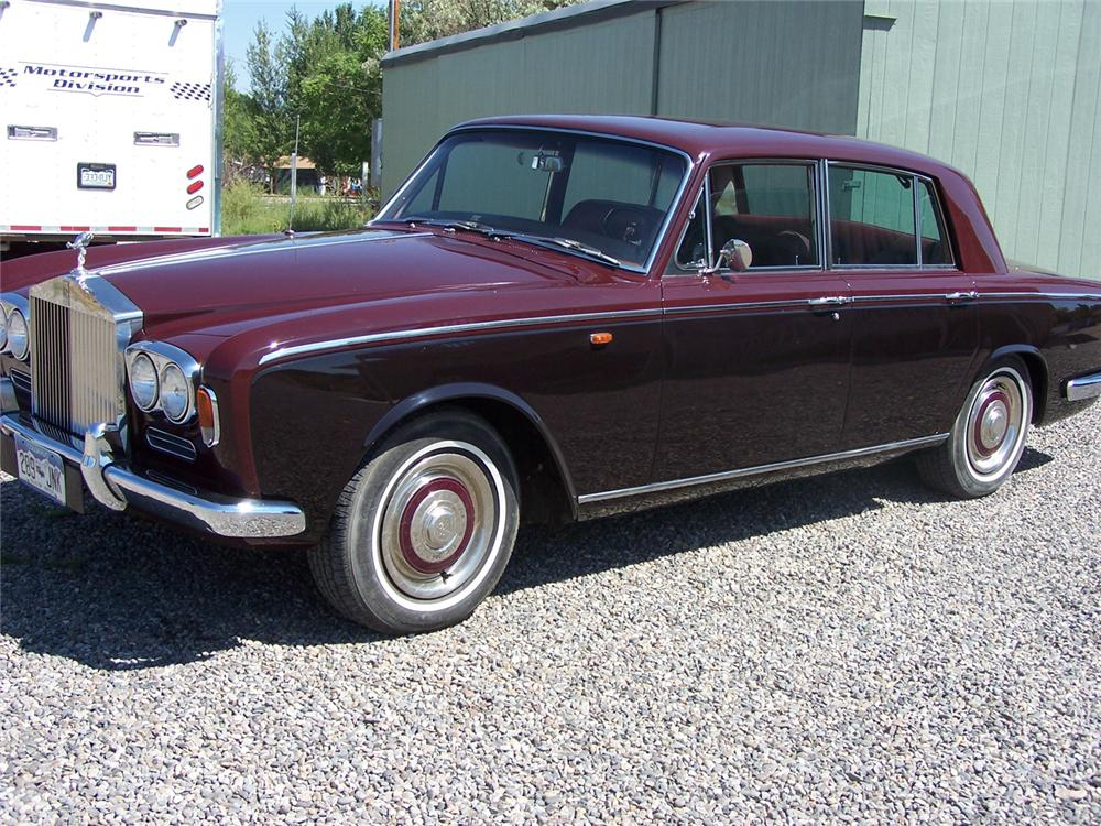 1967 rolls royce silver shadow 4 door sedan 66274. Black Bedroom Furniture Sets. Home Design Ideas