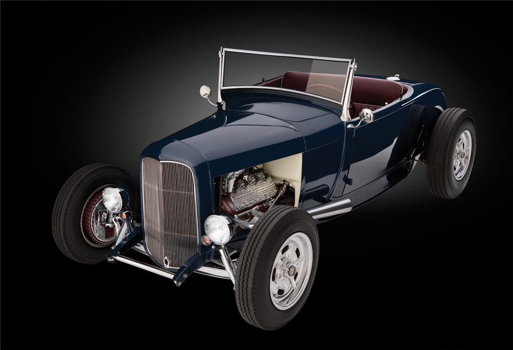 1929 FORD MODEL A CUSTOM ROADSTER - Front 3/4 - 66277
