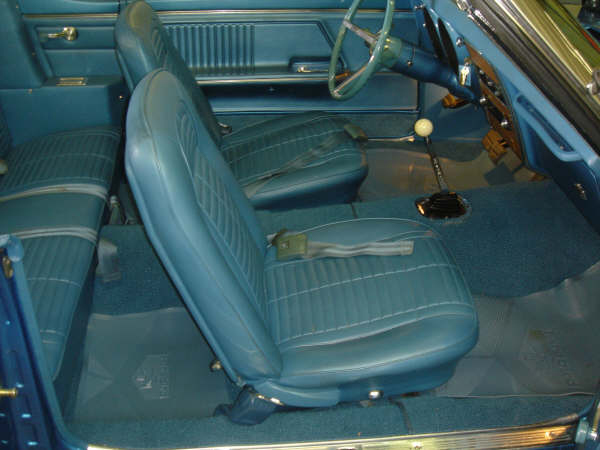 1967 PONTIAC FIREBIRD CONVERTIBLE - Interior - 66279