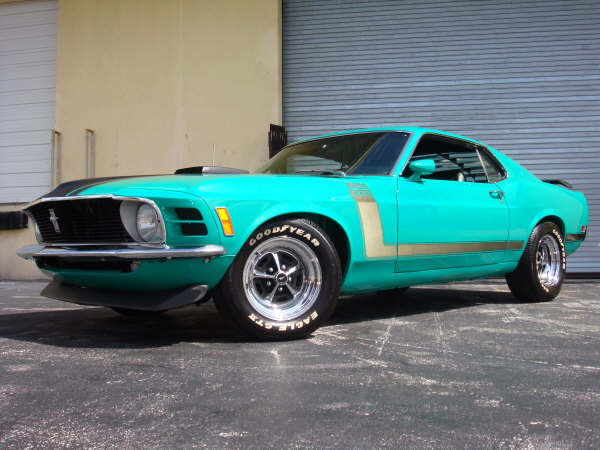 1970 FORD MUSTANG BOSS 302 FASTBACK - Front 3/4 - 66280