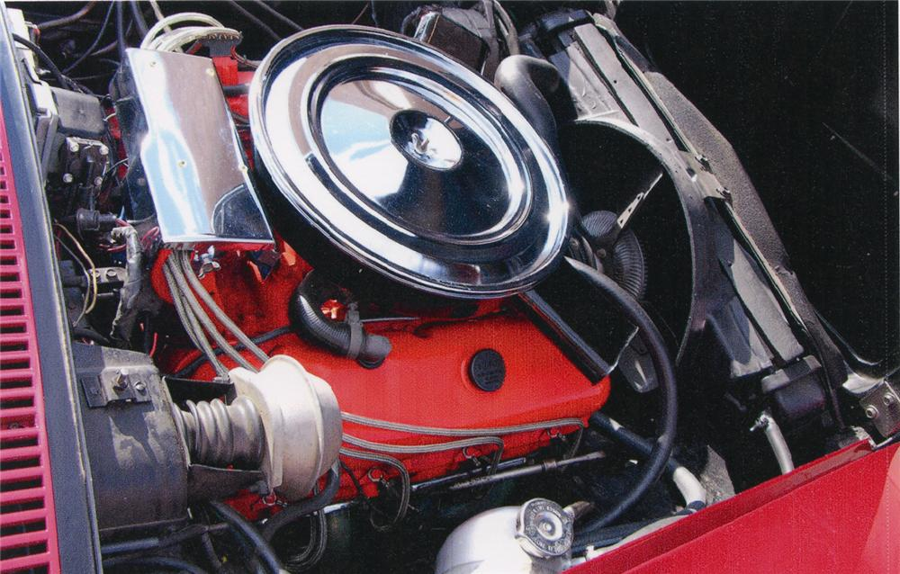 1972 CHEVROLET CORVETTE CUSTOM COUPE - Engine - 66288