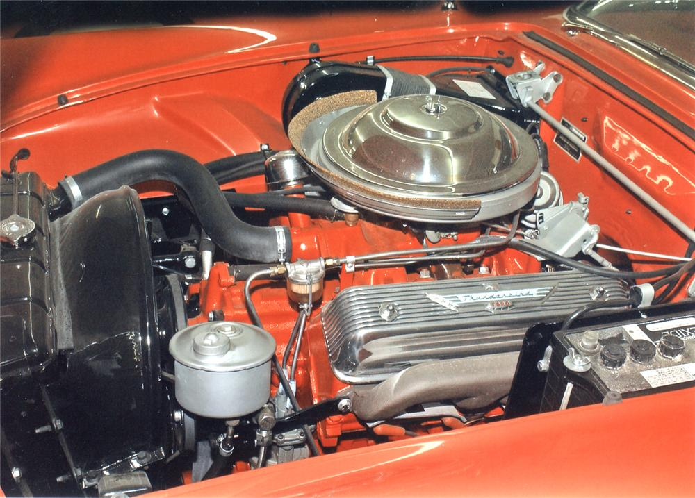 1956 FORD THUNDERBIRD CONVERTIBLE - Engine - 66301