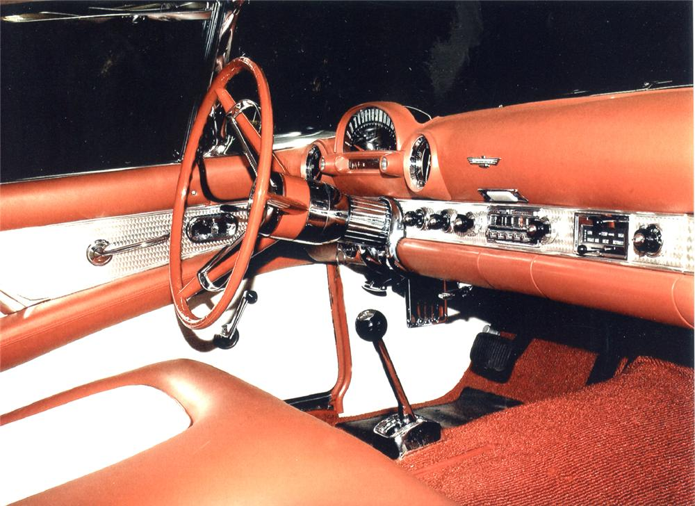 1956 FORD THUNDERBIRD CONVERTIBLE - Interior - 66301