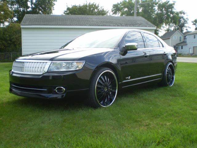 2007 LINCOLN MKZ DUB EDITION CUSTOM SHOW CAR - Front 3/4 - 66309