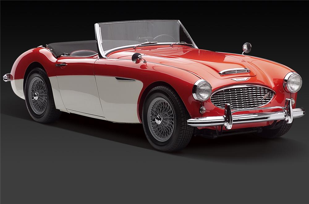 1960 AUSTIN-HEALEY BT7 ROADSTER - Front 3/4 - 66310