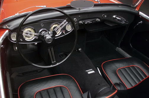 1960 AUSTIN-HEALEY BT7 ROADSTER - Interior - 66310
