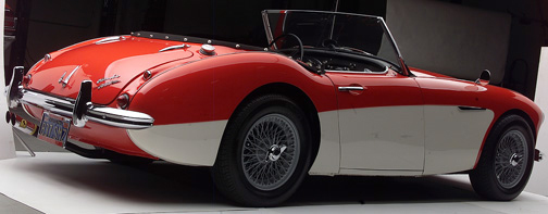 1960 AUSTIN-HEALEY BT7 ROADSTER - Rear 3/4 - 66310