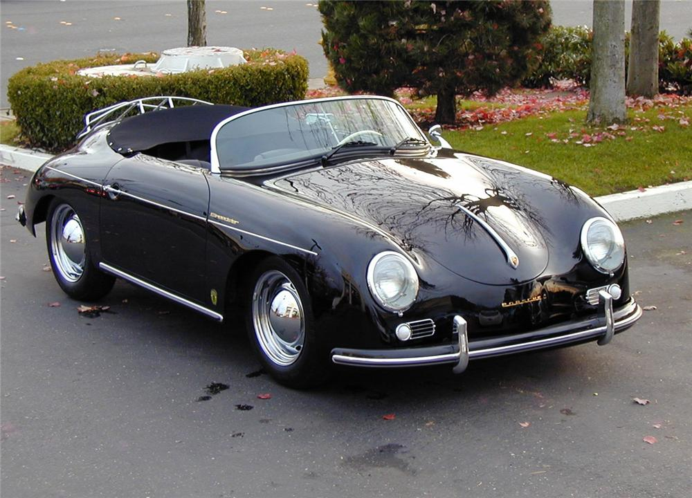 1957 PORSCHE SPEEDSTER RE-CREATION - Front 3/4 - 66316