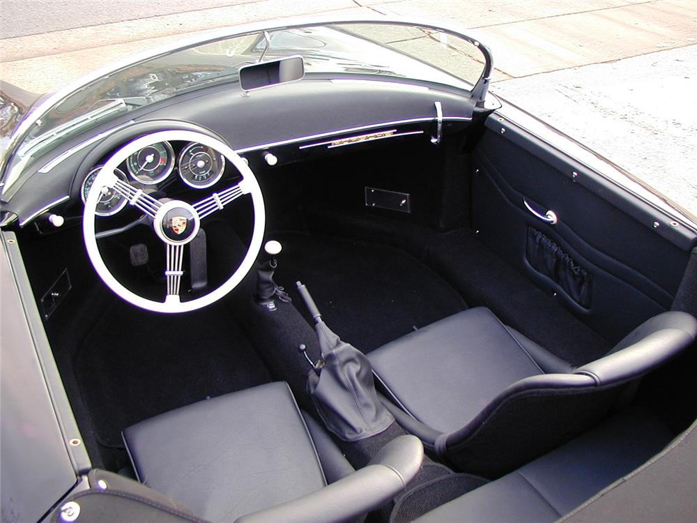 1957 PORSCHE SPEEDSTER RE-CREATION - Interior - 66316