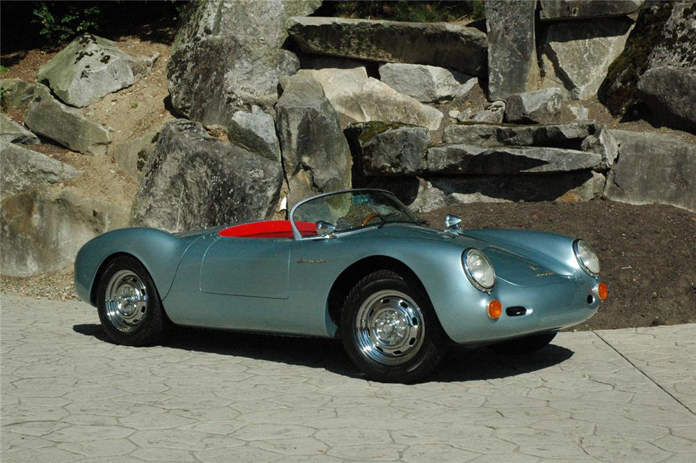 1955 PORSCHE 550 SPYDER RE-CREATION - Front 3/4 - 66321