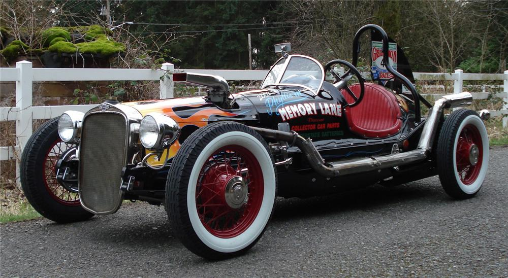 1932 CHEVROLET OPEN-WHEELED RACE CAR - Front 3/4 - 66323