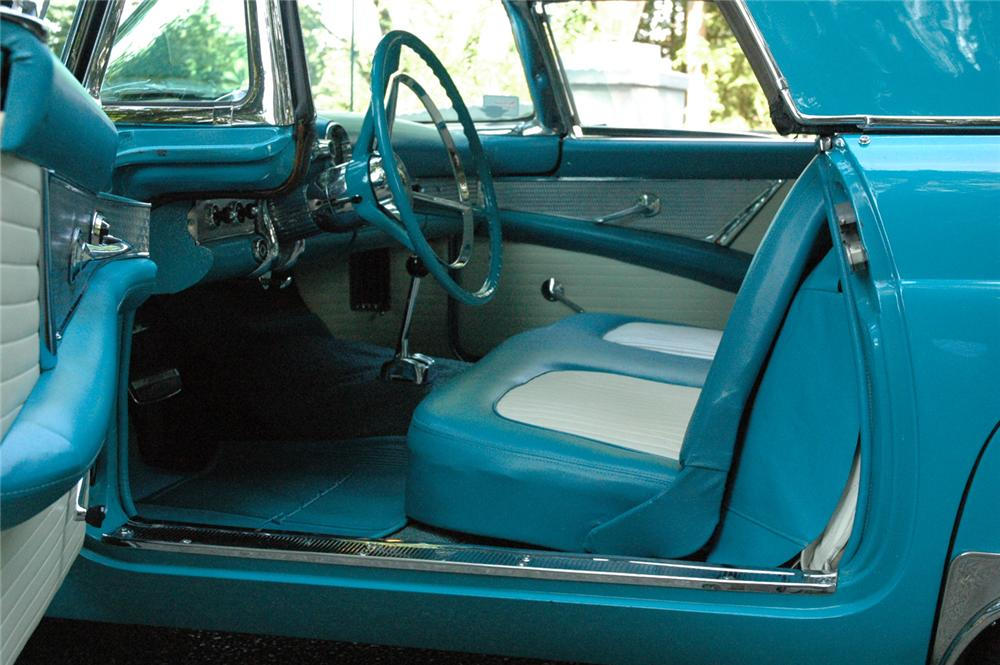 1956 FORD THUNDERBIRD CONVERTIBLE - Interior - 66325