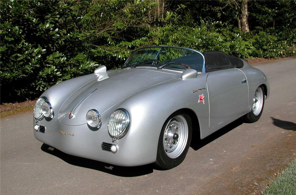 1957 PORSCHE CARRERA SPEEDSTER RE-CREATION - Front 3/4 - 66326