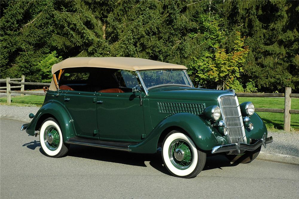 1935 ford model 48 phaeton 4 door convertible 66328