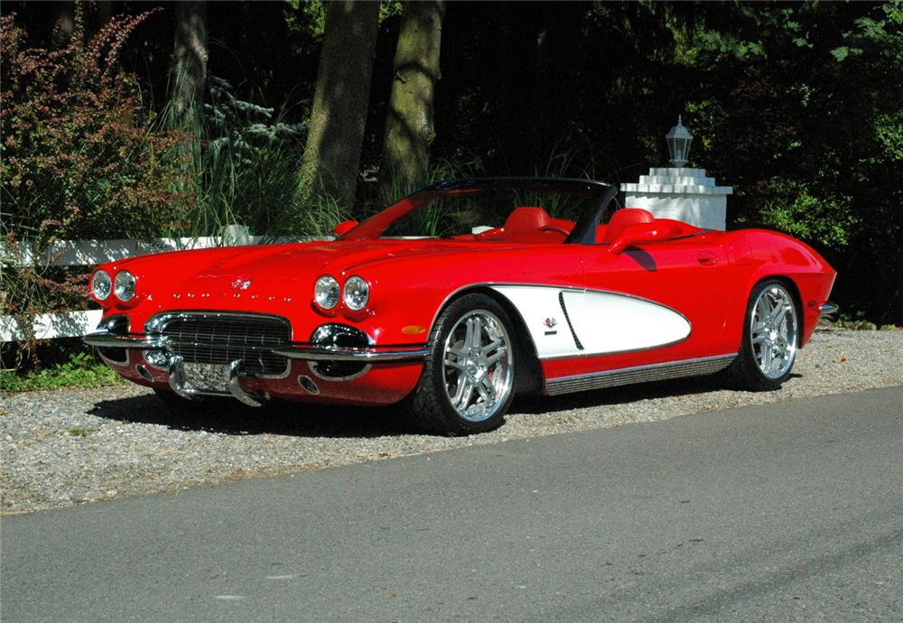 1962 chevrolet corvette convertible re creation