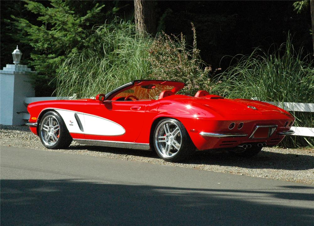 1962 chevrolet corvette convertible re creation 66332. Black Bedroom Furniture Sets. Home Design Ideas