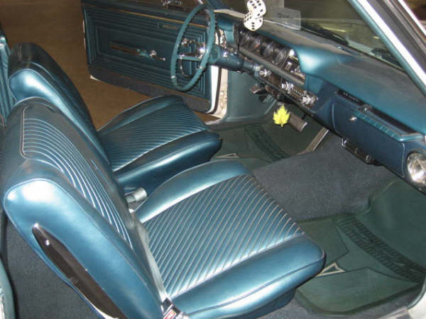 1965 PONTIAC LEMANS 2 DOOR HARDTOP - Interior - 66334