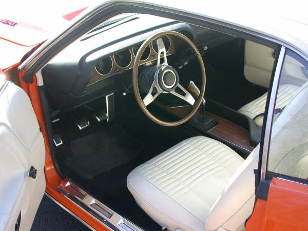 1970 DODGE CHALLENGER R/T COUPE - Interior - 66335