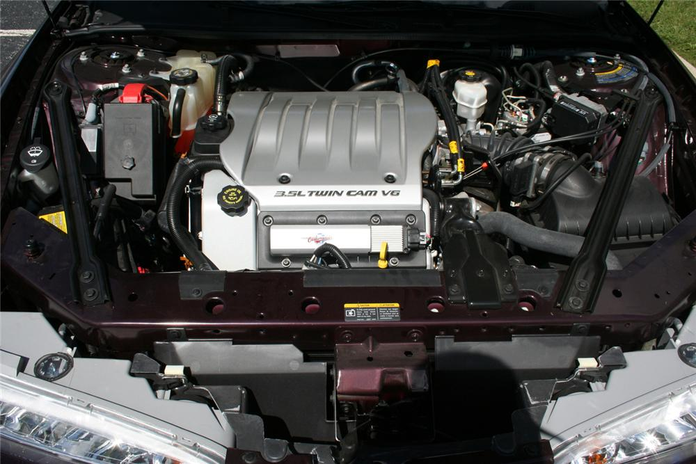 "2002 OLDSMOBILE INTRIGUE GL SEDAN ""THE FINAL 500"" - Engine - 66354"