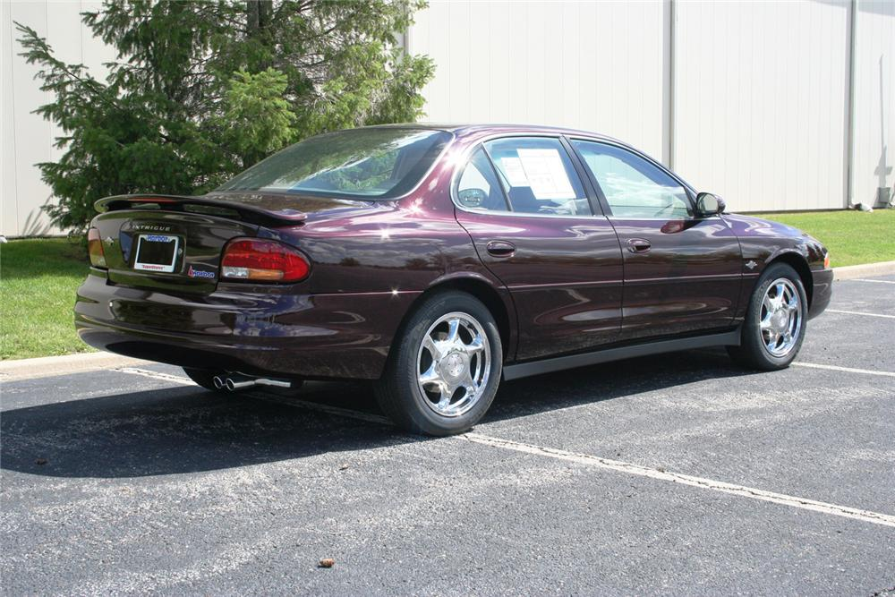 "2002 OLDSMOBILE INTRIGUE GL SEDAN ""THE FINAL 500"" - Rear 3/4 - 66354"