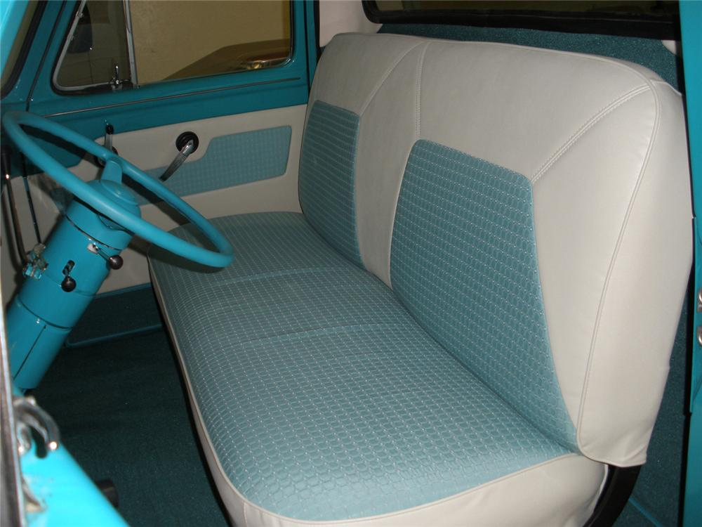 1955 FORD F-100 PICKUP - Interior - 66361