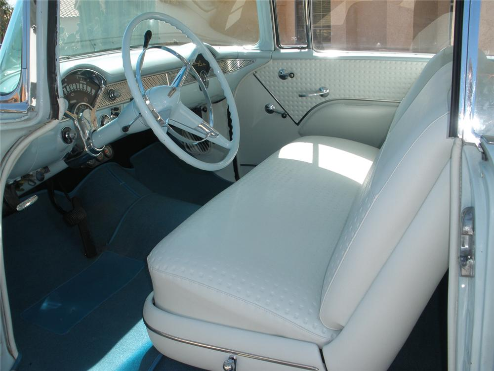 1955 CHEVROLET BEL AIR 2 DOOR HARDTOP - Interior - 66362