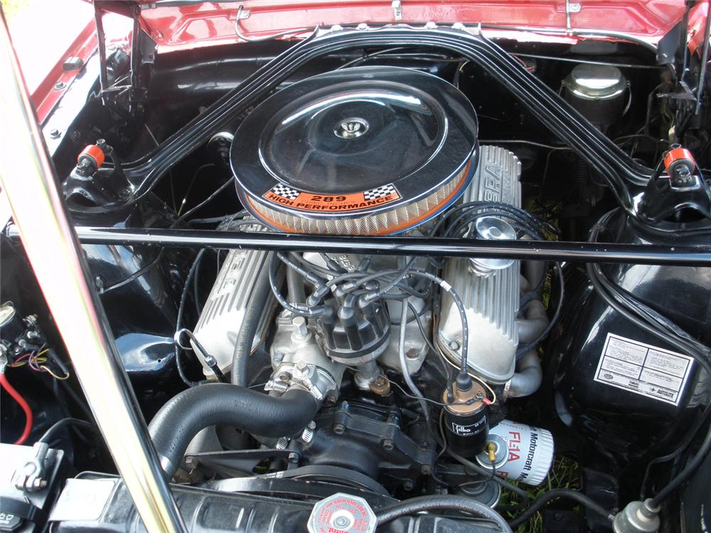 1966 FORD MUSTANG SHELBY TRIBUTE - Engine - 66363