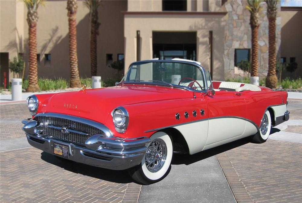 1955 Buick Roadmaster Convertible 66364