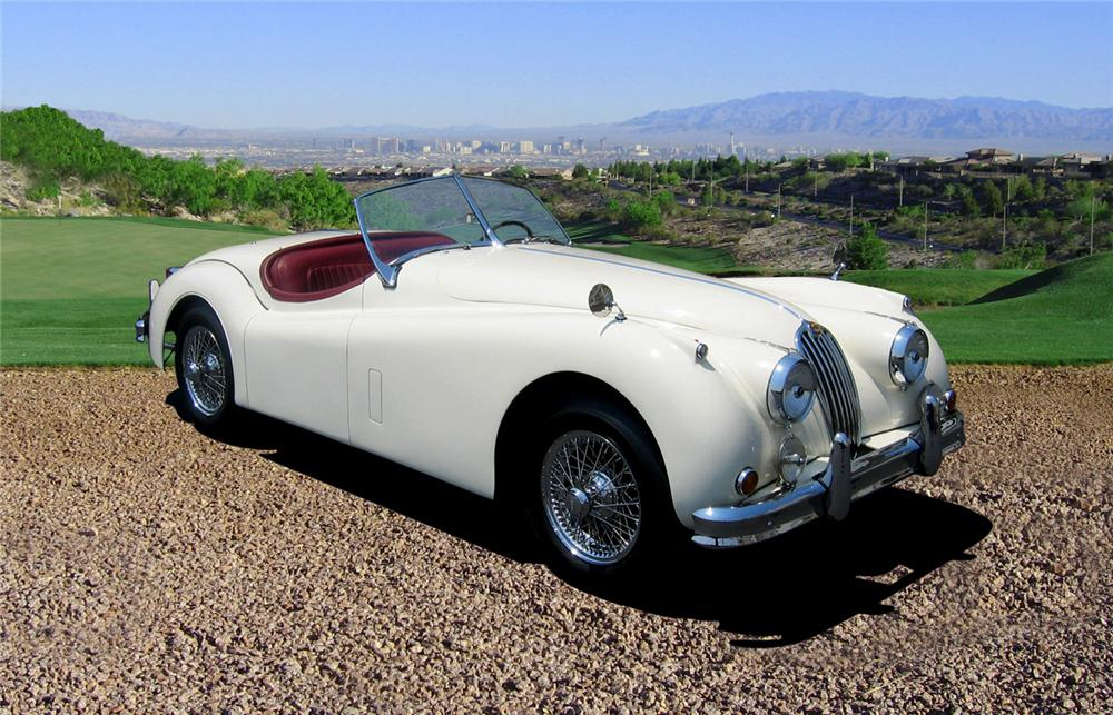 Online Car Auction >> 1955 JAGUAR XK 140 M ROADSTER