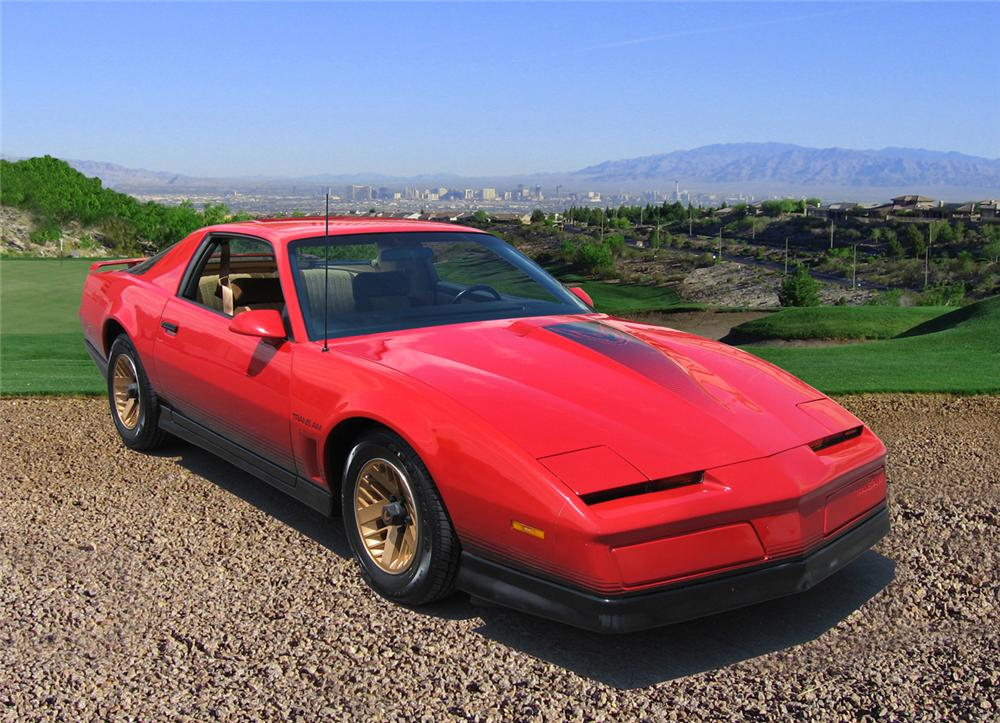 1984 PONTIAC TRANS AM 2 DOOR - Front 3/4 - 66373