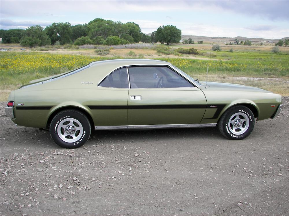 1969 AMERICAN MOTORS JAVELIN 2 DOOR COUPE
