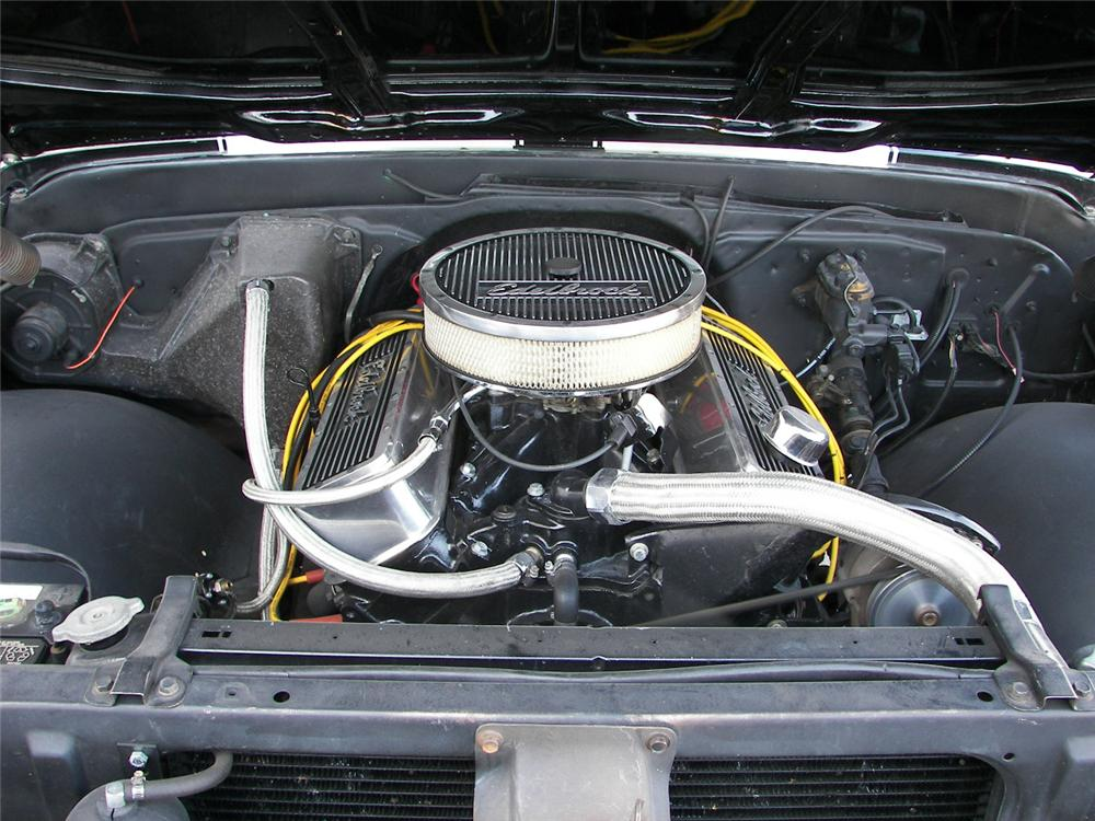 1970 CHEVROLET C-10 CUSTOM PICKUP - Engine - 66377