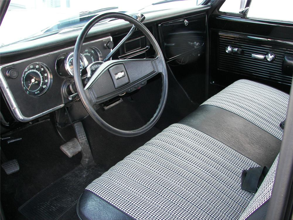 1970 CHEVROLET C-10 CUSTOM PICKUP - Interior - 66377
