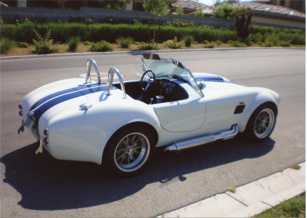 1965 SHELBY COBRA RE-CREATION ROADSTER - Rear 3/4 - 66378