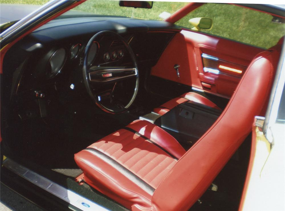 1971 FORD MUSTANG MACH 1 FASTBACK - Interior - 66379