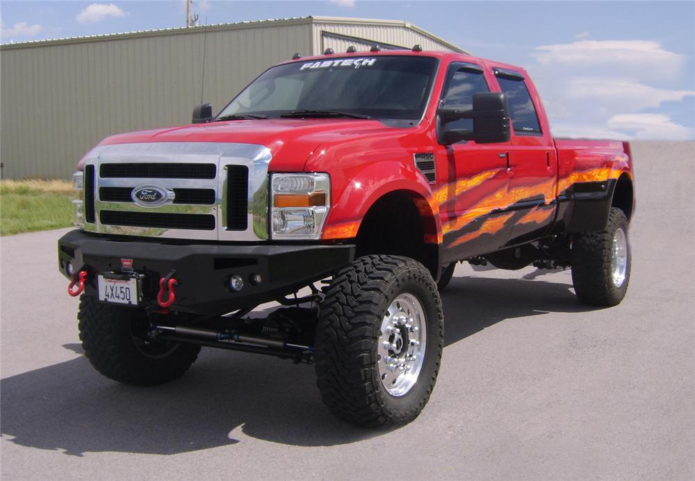 2008 FORD F-450 CUSTOM PICKUP - Front 3/4 - 66406