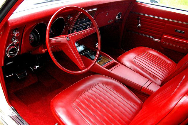 1968 CHEVROLET CAMARO SS 2 DOOR COUPE - Interior - 66414