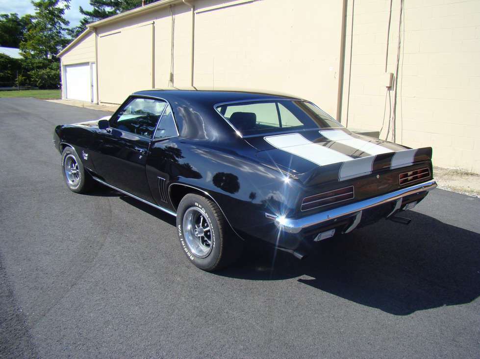 1969 CHEVROLET CAMARO RS/SS 2 DOOR COUPE - Rear 3/4 - 66415