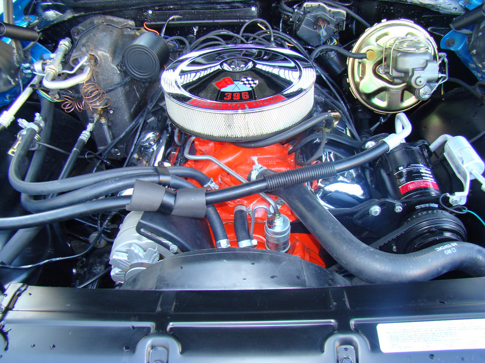 1969 CHEVROLET CHEVELLE SS 2 DOOR CONVERTIBLE - Engine - 66416
