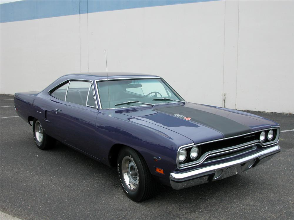 1970 PLYMOUTH ROAD RUNNER 2 DOOR COUPE - Front 3/4 - 66424