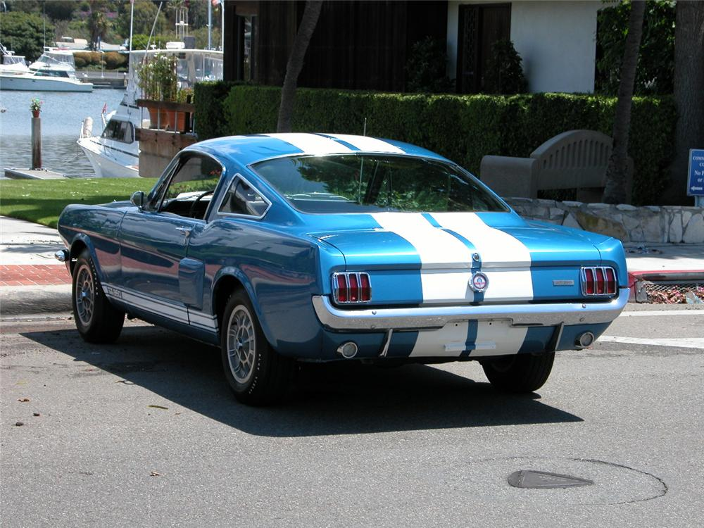 1966 SHELBY GT350 FASTBACK - Rear 3/4 - 66425