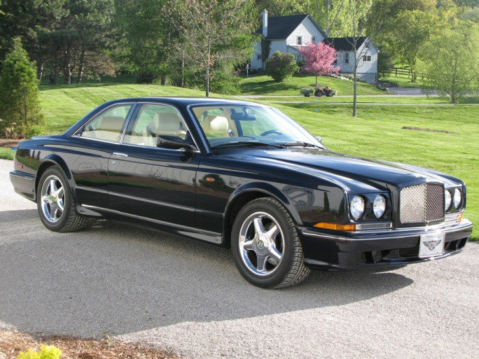 2000 BENTLEY CONTINENTAL R 2 DOOR COUPE - Front 3/4 - 66444