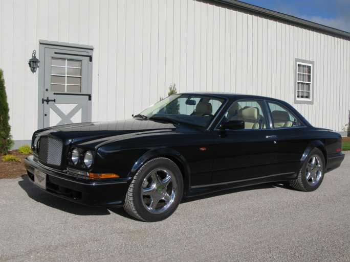 2000 BENTLEY CONTINENTAL R 2 DOOR COUPE - Side Profile - 66444