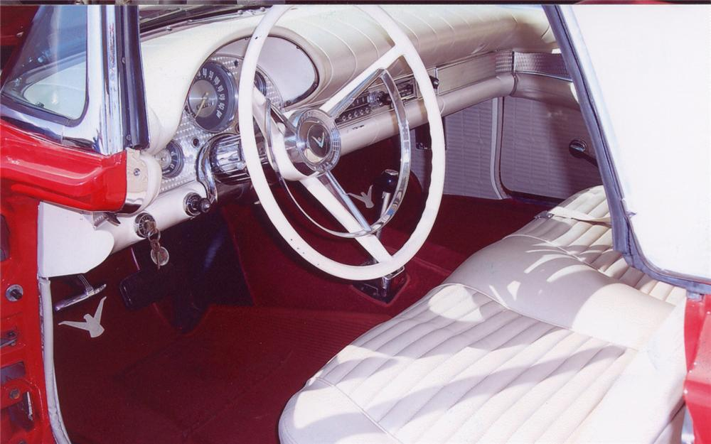 1957 FORD THUNDERBIRD CONVERTIBLE - Interior - 66460