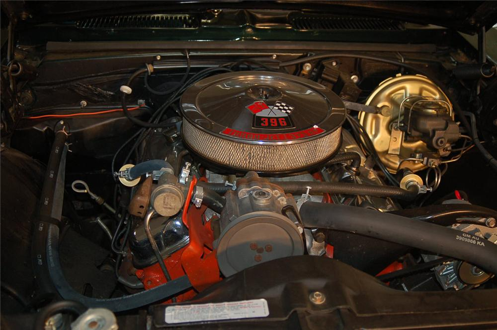 1968 CHEVROLET CAMARO RS/SS COUPE - Engine - 66461