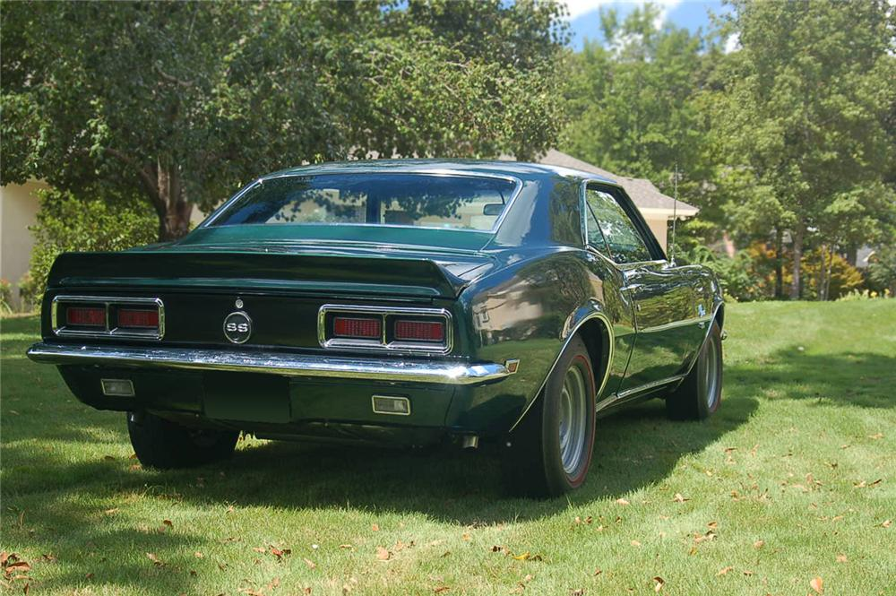 1968 CHEVROLET CAMARO RS/SS COUPE - Rear 3/4 - 66461