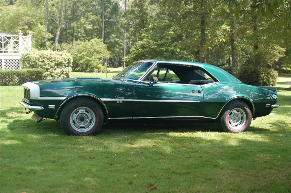 1968 CHEVROLET CAMARO RS/SS COUPE - Side Profile - 66461